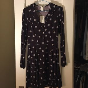 H&M Dress With Stars